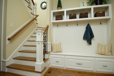Entryway Storage Organization | Interior Decorating